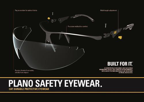 lentes seguridad cat mortar 112. para trabajo de obra taller