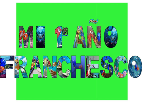 letras para cumpleaños personalizado