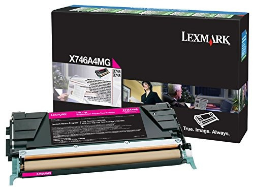 lexmark magenta return program toner cartridge for us