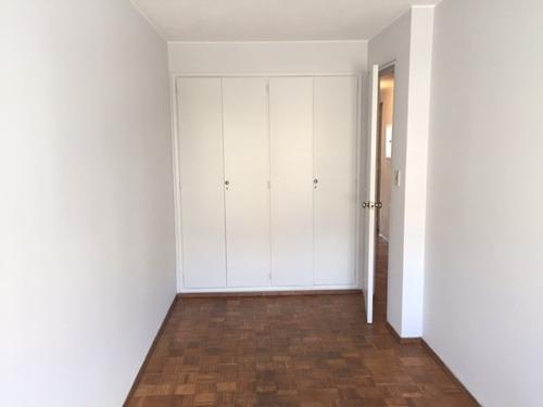 libertad prox a 21 - alq apto 2 dorm + 2 baños + garage