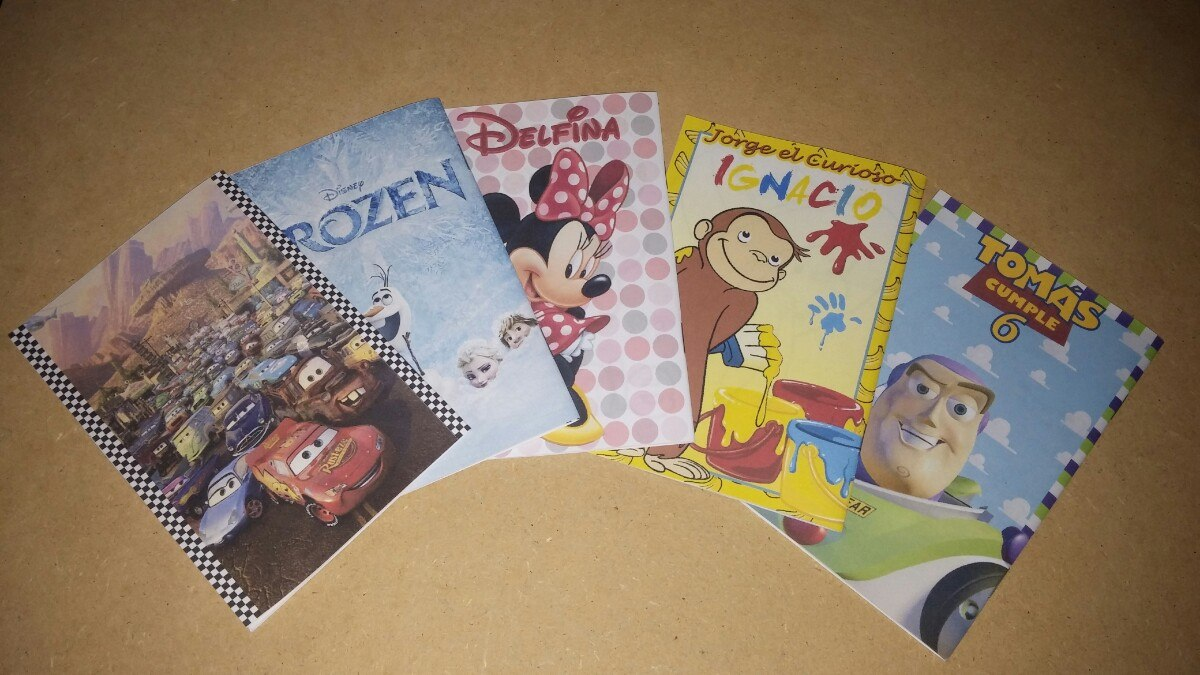 Libritos Para Colorear Personalizados De Cumpleaños - $ 20,00 en ...