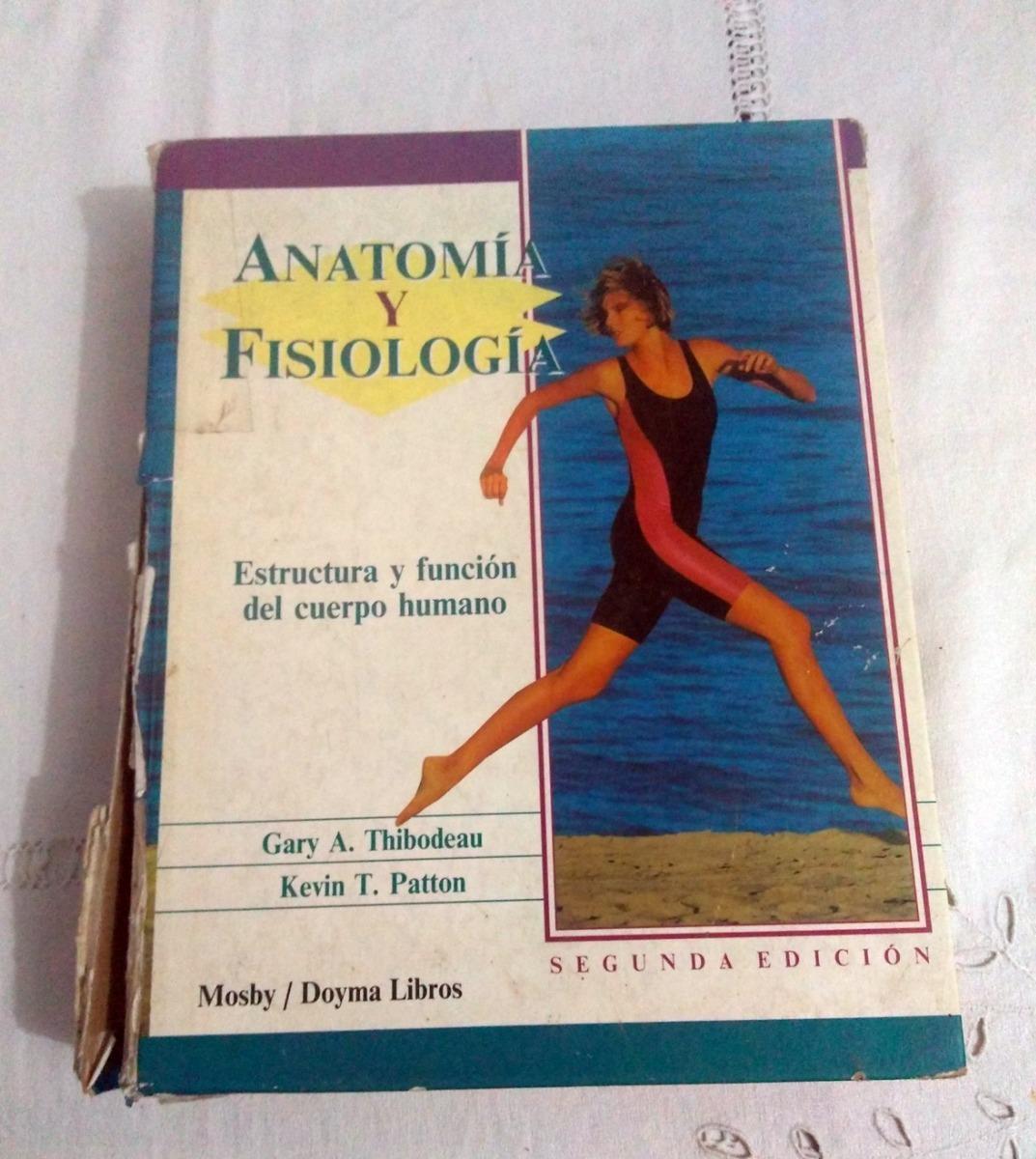 Libro Anatomía Y Fisiología Tapas En Mal Estado - $ 500,00 en ...
