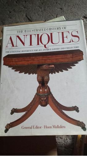 libro antigüedades en inglés. huon mallalieu. illustrated