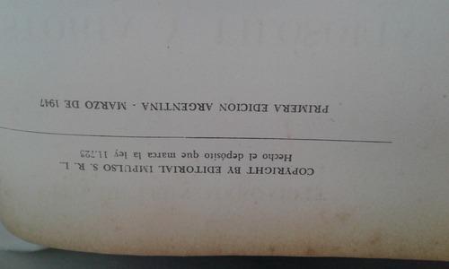 libro antiguo historia del cine 1947