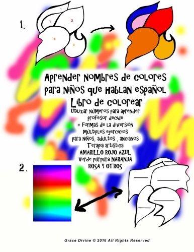 Libro : Aprender Nombres De Colores Para Niños Que Habla... - $ 709 ...