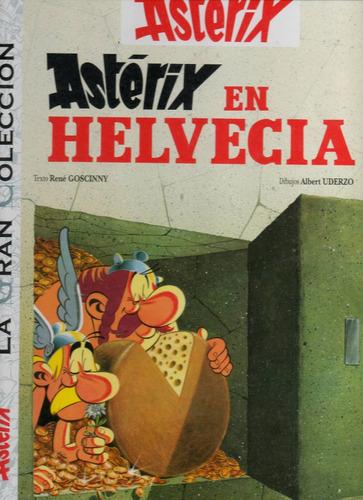 libro: asterix en helvecia - la gran colección