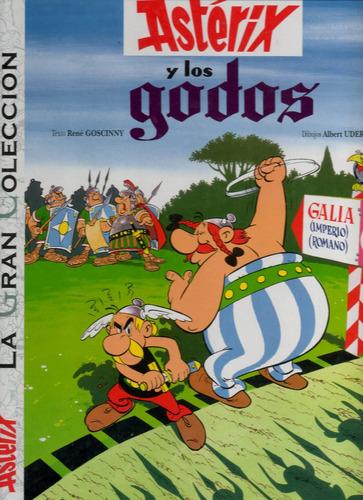 libro: asterix y los godos - la gran colección