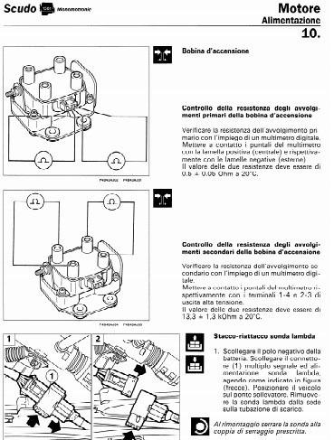 libro de taller fiat scudo, 1996 - 2004