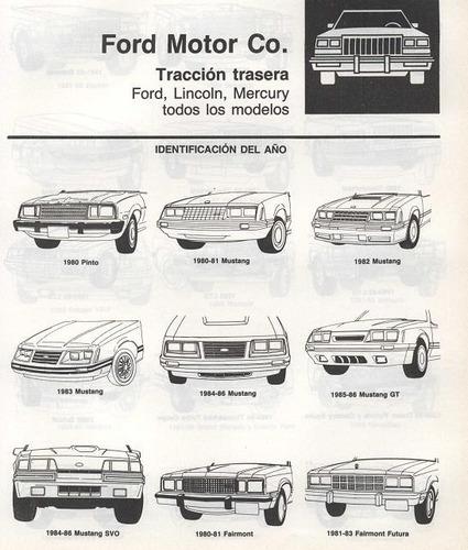 libro de taller lincoln town car, 1979-1987, envio gratis.