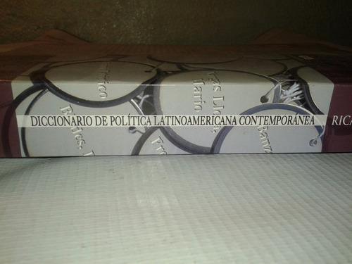 libro diccionario de política  de ricardo nudelma