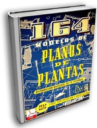 libro digital 164 planos de planta de casas pdf (dvd)