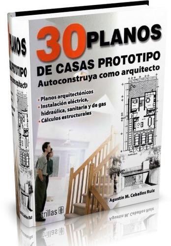 libro digital 30 planos de casas prototipo pdf (dvd)