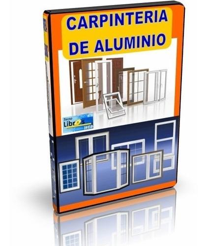 libro digital audiovisual - carpintería en aluminio - dvd