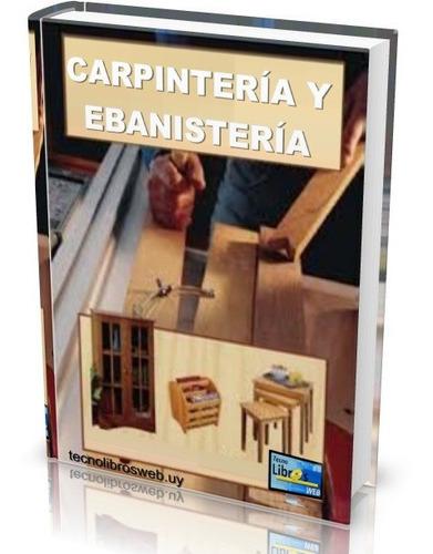 libro digital carpintería y ebanistería - pdf