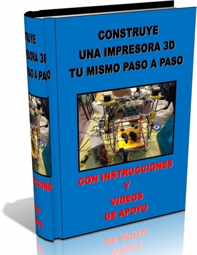 libro digital - construye tu impresora 3d prusa mandel - dvd