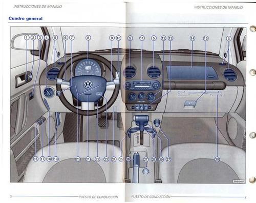 libro digital de usuario volkswagen new beetle, 2001-2005