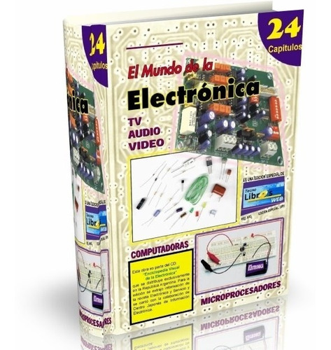 libro digital - el mundo de la electrónica - 24 tomos pdf