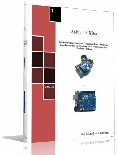 libro digital - guía básica de arduino + 2 libros- pdf (dvd)