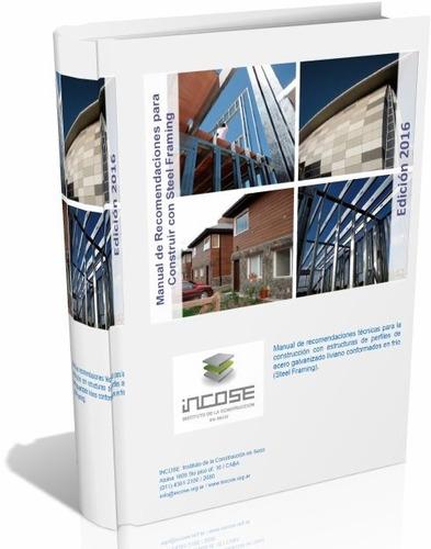libro digital manual de steel framing incose 2016 pdf (dvd)