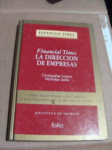 libro direccion de empresas christopher lorenz  , financial