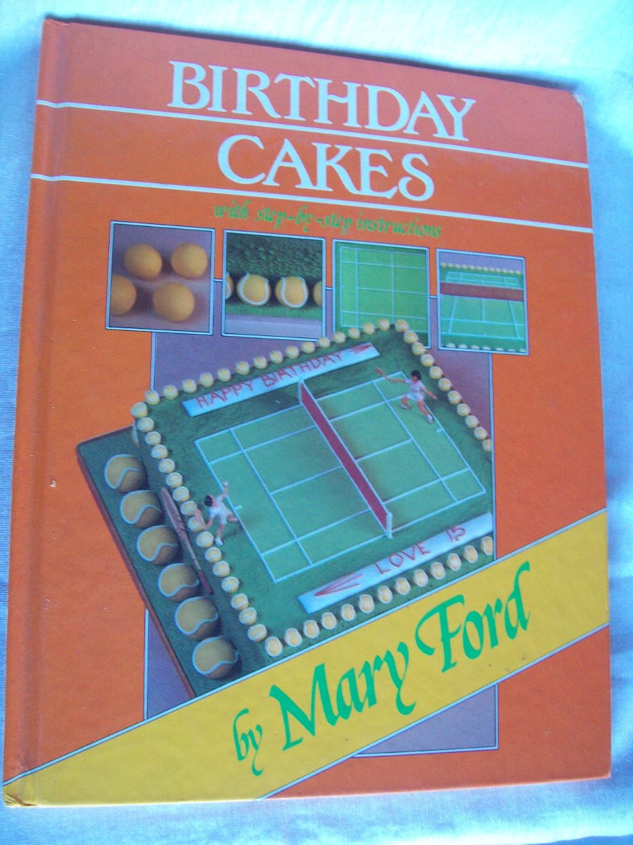 Libro En Ingles Birthday Cakes De Mary Ford Decoracin 13500