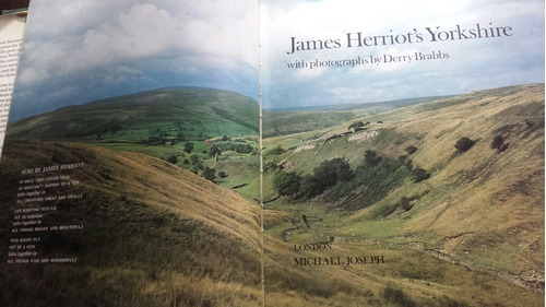 libro en inglés. james herriot's yorkshire. with photographs