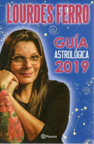 libro: guía astrológica 2019 lourdes ferro