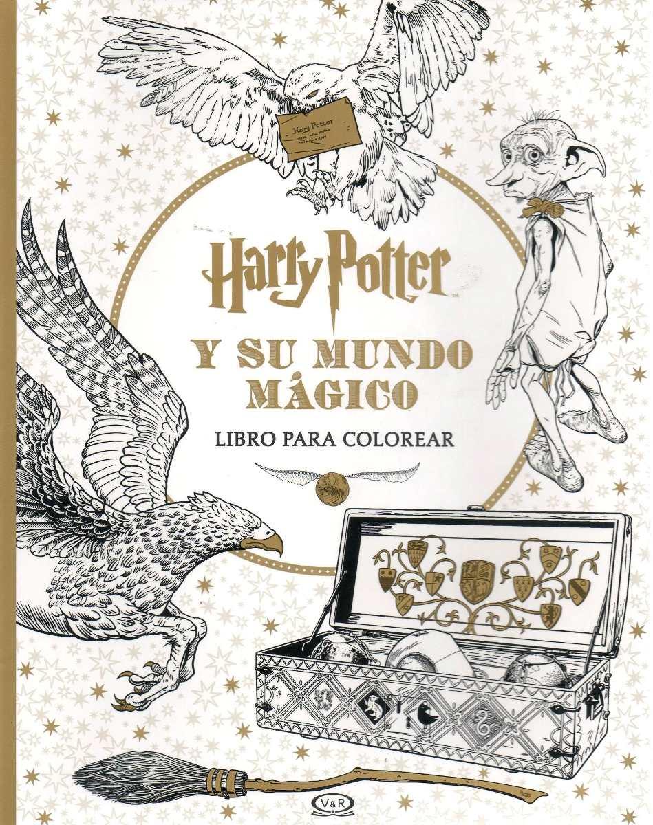 Libro: Harry Potter Y Su Mundo Mágico (para Colorear) - $ 690,00 en ...