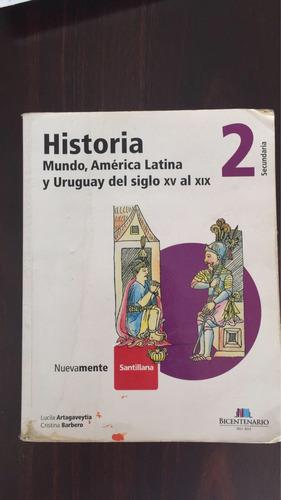 libro historia 2 mundo, américa latina y del siglo xv al xix
