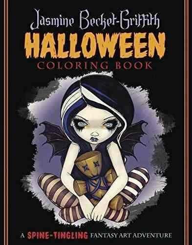 Libro Jasmine Becket-griffith Halloween Coloring Book: A Spi ...
