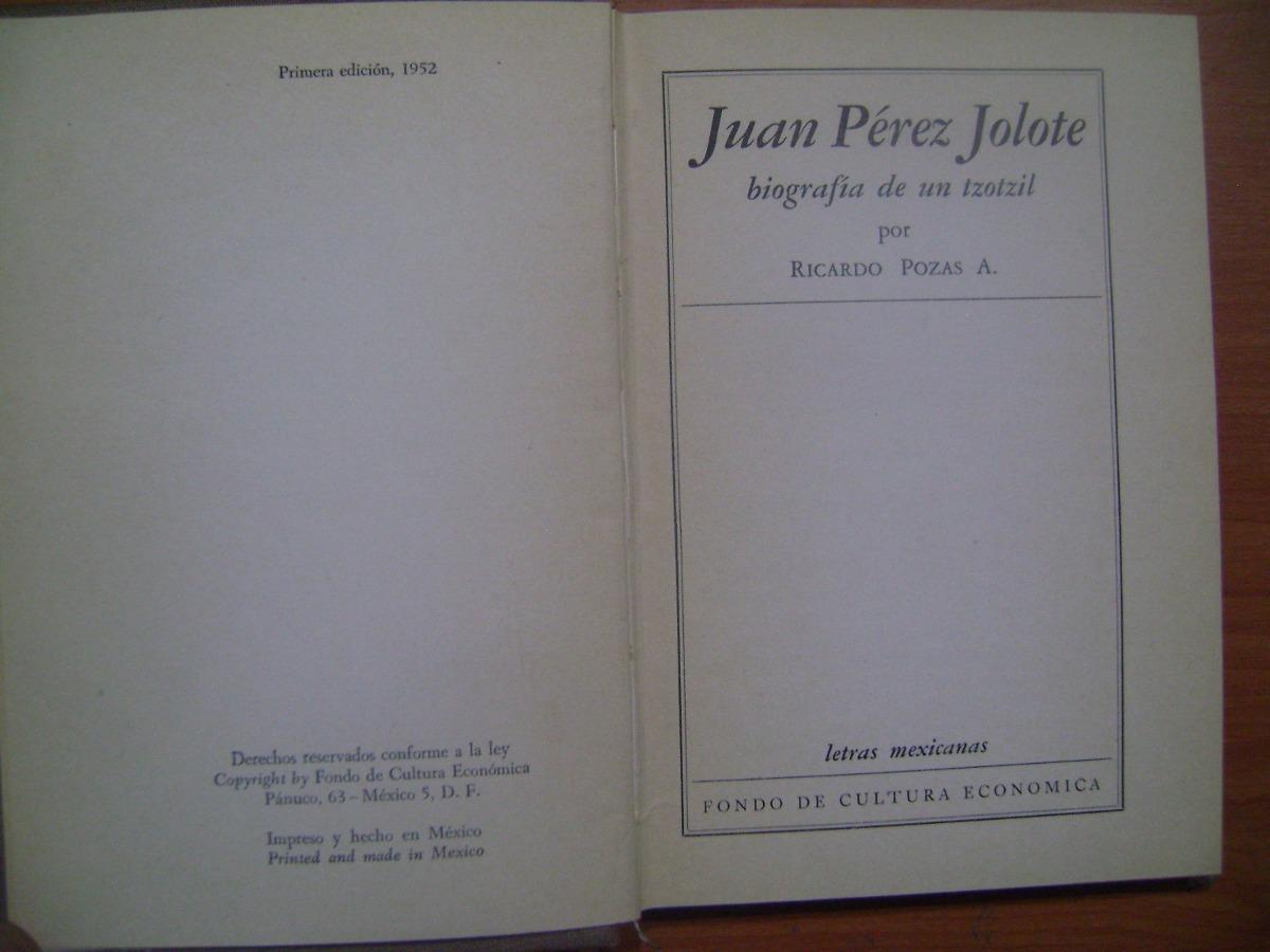 JUAN PEREZ JOLOTE LIBRO COMPLETO DOWNLOAD