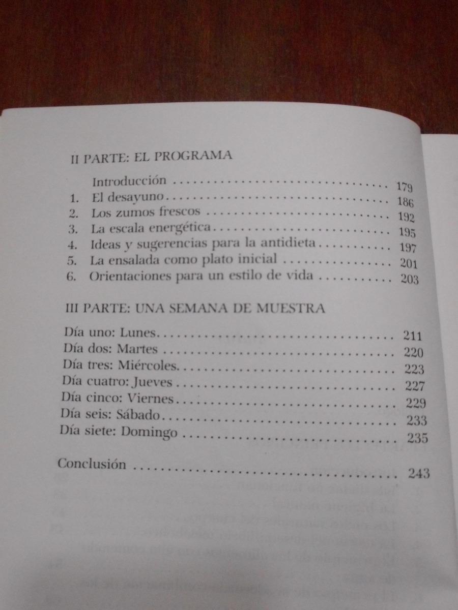 antidieta libro