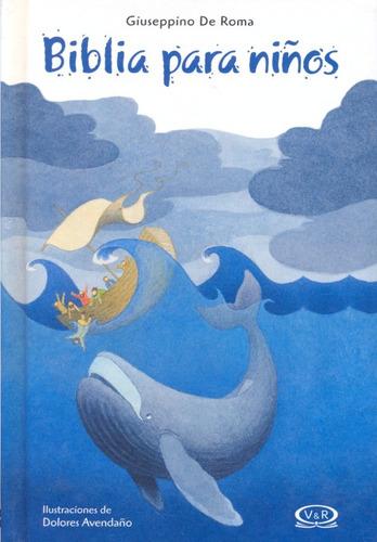 libro: la biblia para niños (giuseppino de roma)
