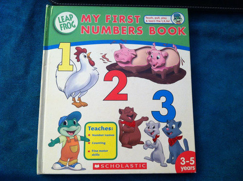 libro leap frog my first numbers book