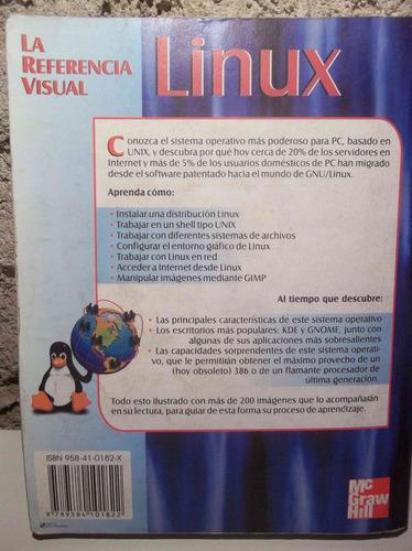 libro: linux la referencia visual - 123ventas