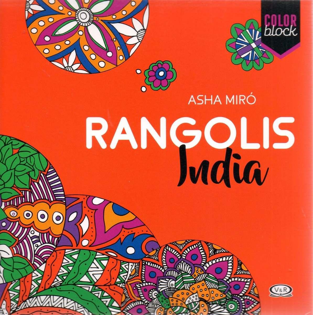 Libro: Mandalas Rangolis India ( Asha Miró) Color Block - $ 490,00 ...