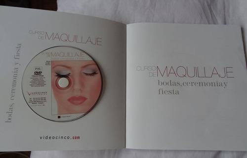 libro maquillaje bodas, ceremonia y fiestas. (incluye dvd)