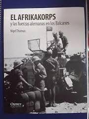 libro osprey el afrikakorps