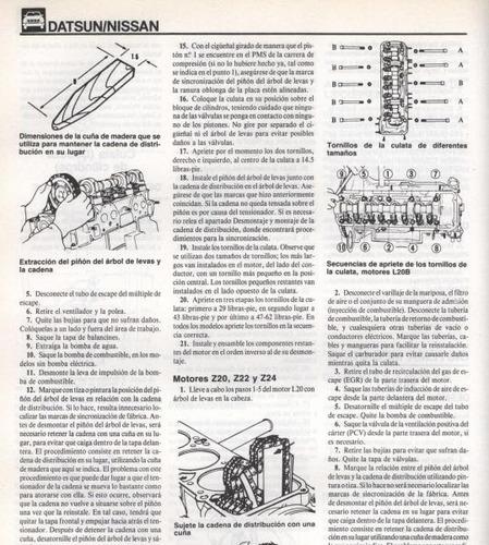 libro taller nissan, datsun 810, 1980-1987, envio gratis.