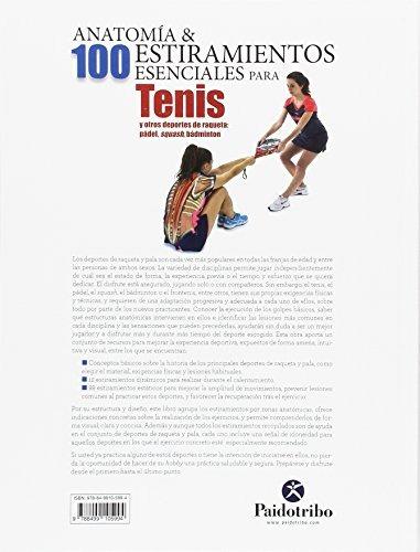 Libro Tenis, Anatomía Y 100 Estiramiento Para - Nuevo - $ 1,150.00 ...