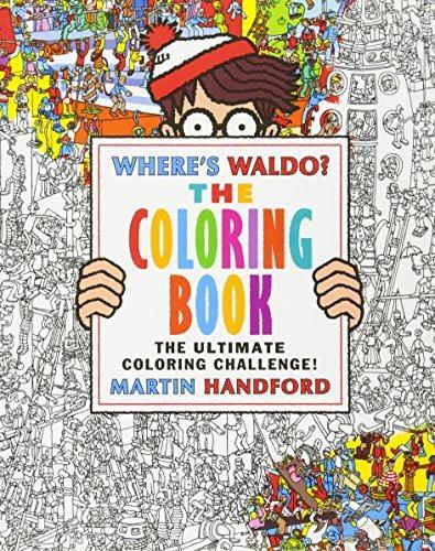 Libro Where\'s Waldo?: The Coloring Book - Nuevo - $ 630.00 en ...