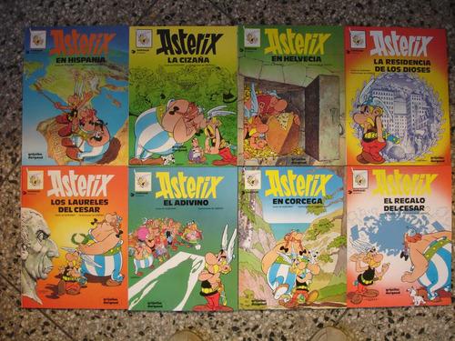 libros de asterix - grijalbo, tapa rústica, muy buen estado