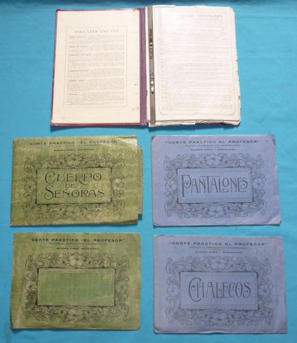 libros de costura instituto corte practico el profesor