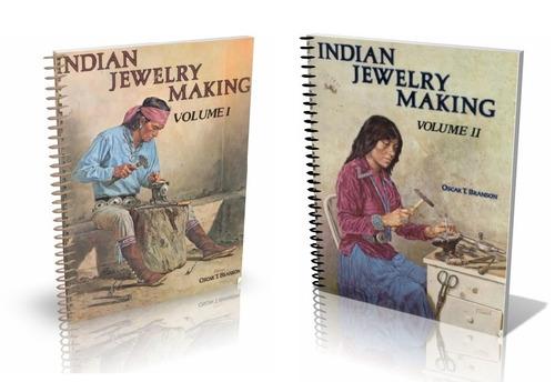 libros digitales - fabricacion de joyeria india vol i y ii