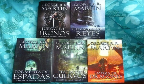 libros games of thrones saga completa + libros regalo autor