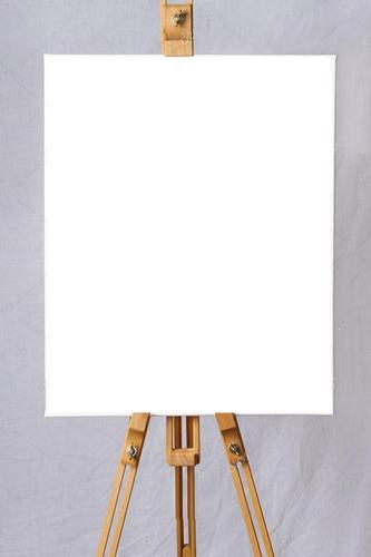 lienzo cuadro blanco con bastidores canvas 40 x 50