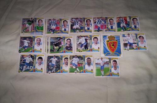 liga española 2011-2012 figuritas sueltas del album..