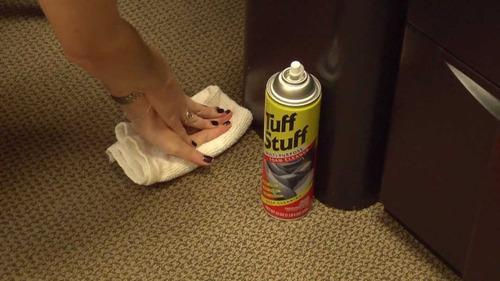 limpiador en espuma multiuso stp tuff stuff - tapizados