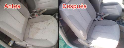 limpieza de tapizados para su auto