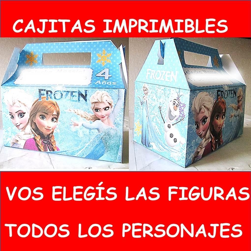 Lindas Cajitas - Imprimibles Personalizadas Frozen - $ 99,00 en ...